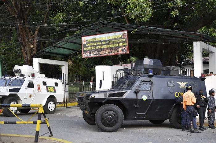 Venezuela : 27 militaires arrêtés pour s