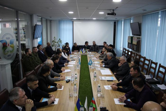 Ukraynada 20 Yanvar faciəsinin qurbanları yad edilib