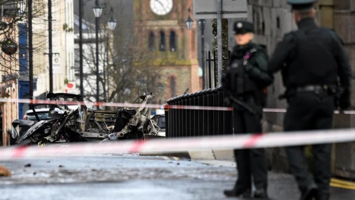Irlande du Nord : 4 arrestations après l