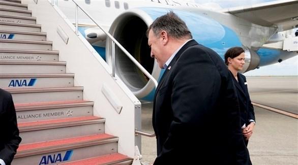 بومبيو يغادر مصر متجهاً إلى البحرين