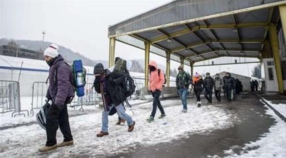 الشرطة الكرواتية تنقذ 15 مهاجراً حاصرتهم الثلوج