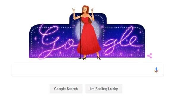 غوغل يحتفي بذكرى ميلاد داليدا الـ86
