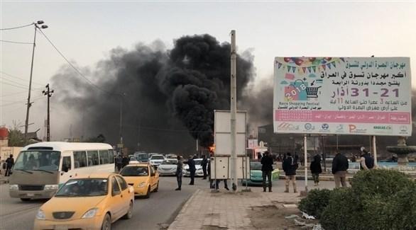 العراق: محتجون يحرقون مقراً للشرطة في البصرة