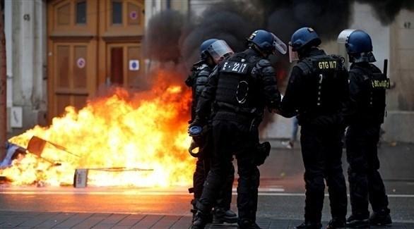 """فرنسا: انتشار أمني مكثف تحسباً لاحتجاجات """"السترات الصفراء"""""""