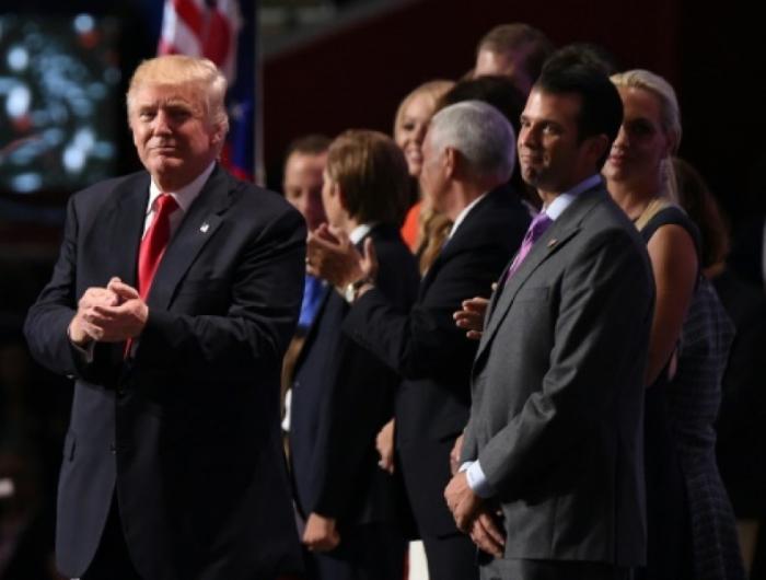Le fils aîné de Trump compare le mur souhaité par son père à un mur de zoo