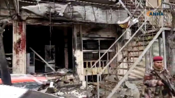 Menbiçdə güclü partlayış: ABŞ hərbçiləri öldü - VİDEO (Yenilənib)