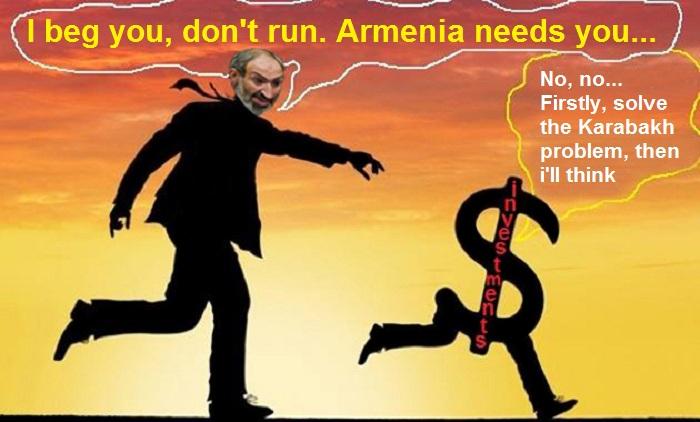 İnvestorlar Qarabağa görə Ermənistandan qaçırlar