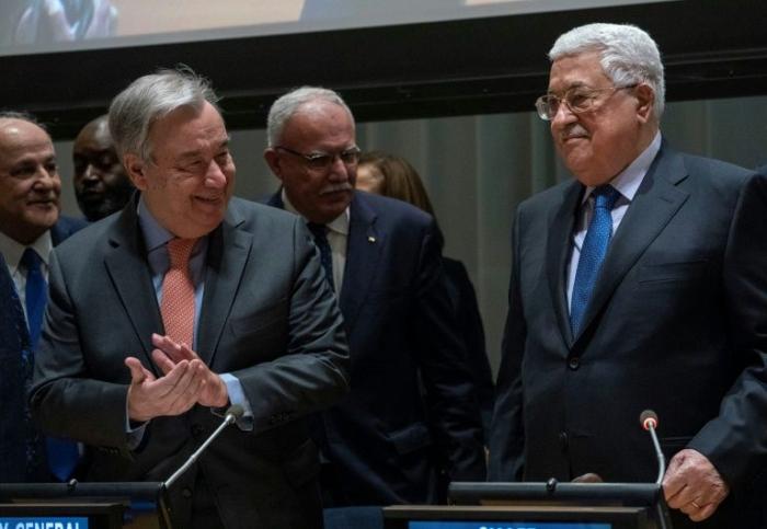 ONU: les Palestiniens, en quête d