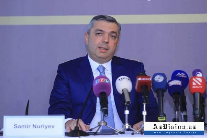 """""""Hazırda 34 şəhərin baş planı var"""" - Samir Nuriyev hesabat verdi"""