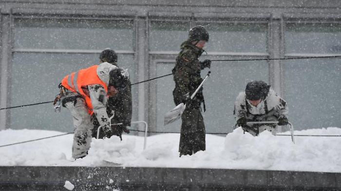Bad Tölz ruft Schnee-Katastrophe aus