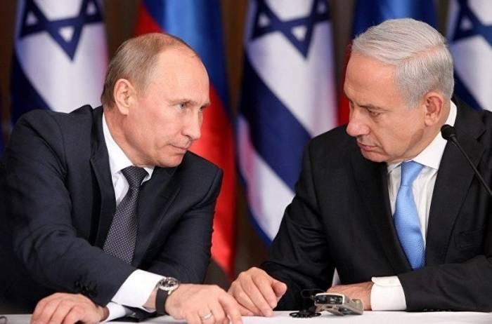 Putin Netanyahu ilə Suriya məsələsini müzakirə edib