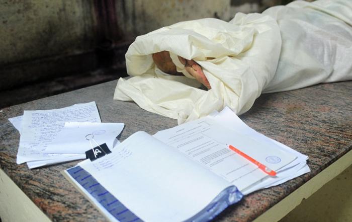 Arvadını öldürən 76 yaşlı kişinin meyiti tapıldı