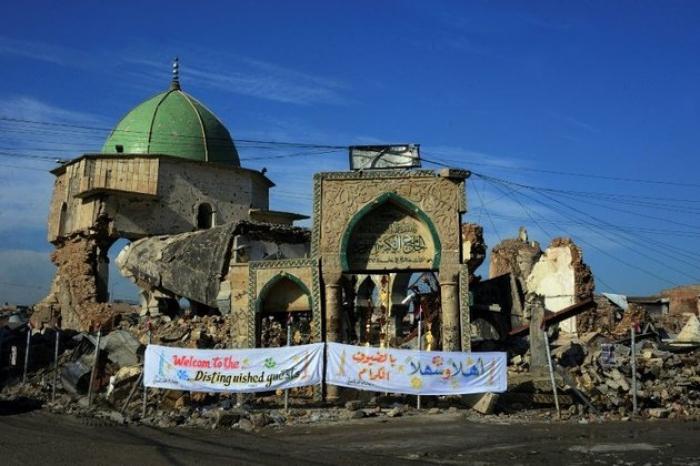 """La reconstruction de Mossoul, """"un projet difficile"""", selon l"""