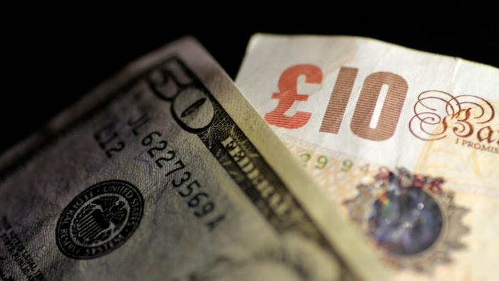 El dólar retrocede mientras la libra esterlina gana terreno