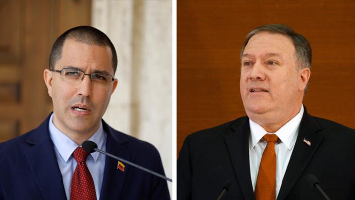 El canciller de Venezuela acusa a Mike Pompeo de promover descaradamente un golpe de Estado