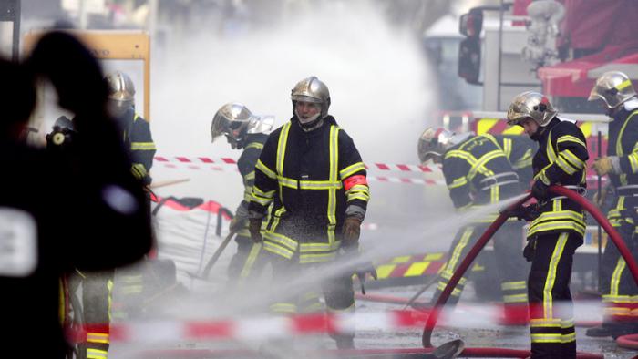 Una explosión sacude Lyon-Video