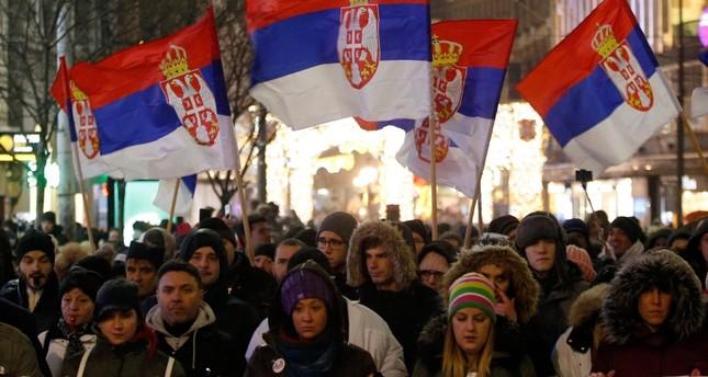 Protests in Belgrade resume against Serbian President Vucic
