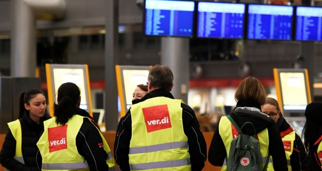 German airport security staff strike leads to chaos