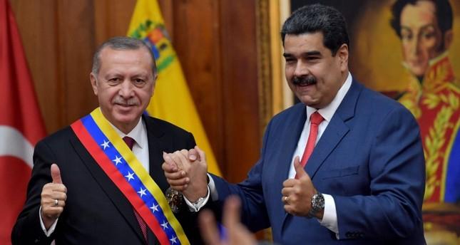 Turkey voices support for Venezuela