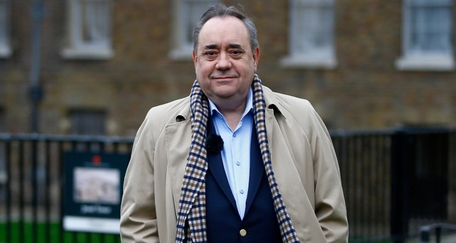 Former Scotland leader Salmond arrested in sexual harassment probe