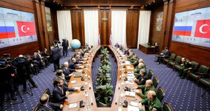 Türkiyəli hərbçilər Moskvaya danışıqlara gedir