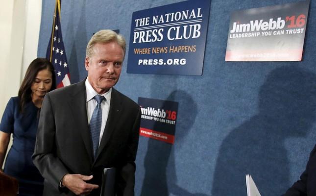 Trump considering former Democratic Senator Webb for defense secretary