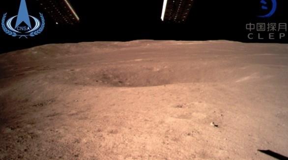 الصين ترسل أول صورة للجانب الداكن من القمر