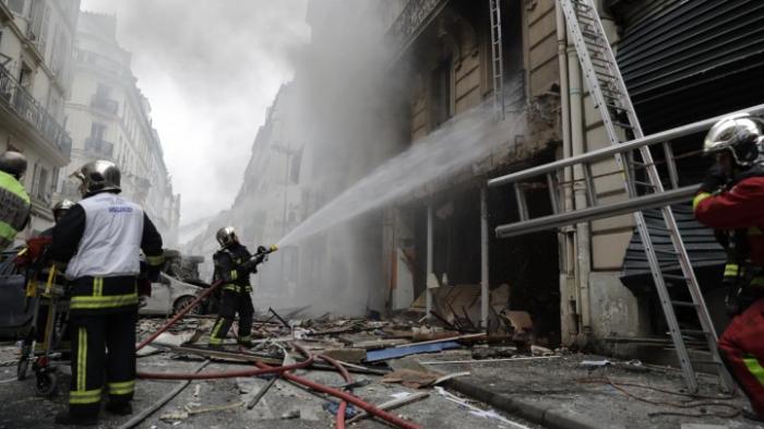 Verletzte bei Explosion