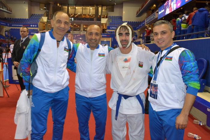 Rafael Ağayev Fransada finala çıxdı - FOTO
