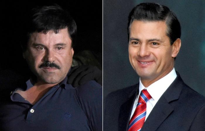 «El Chapo» a versé 100 millions de dollars à l