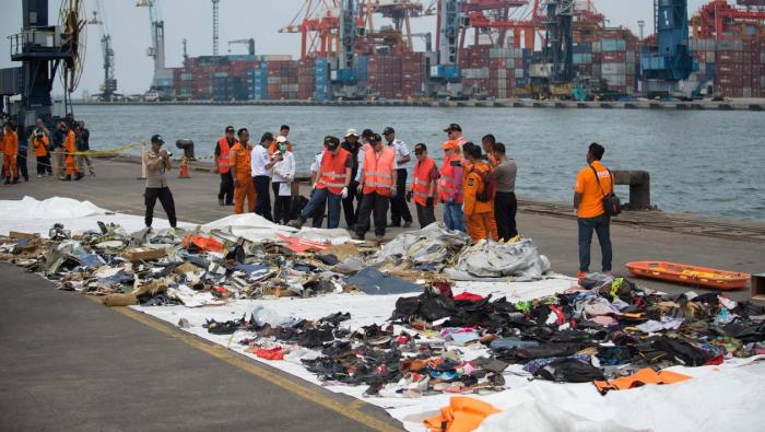 Indonésie:  la seconde boîte noire du crash de Lion Air retrouvée