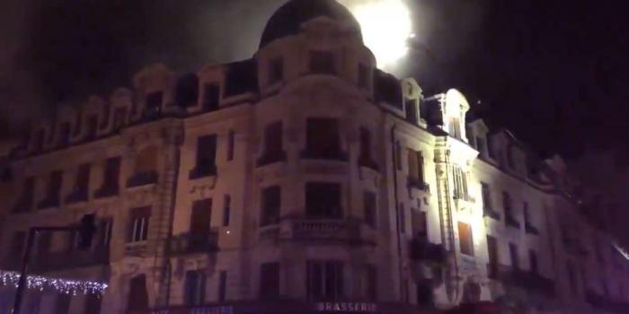 France:   19 blessés, dont 2 très graves,   dans un incendie à Toulouse