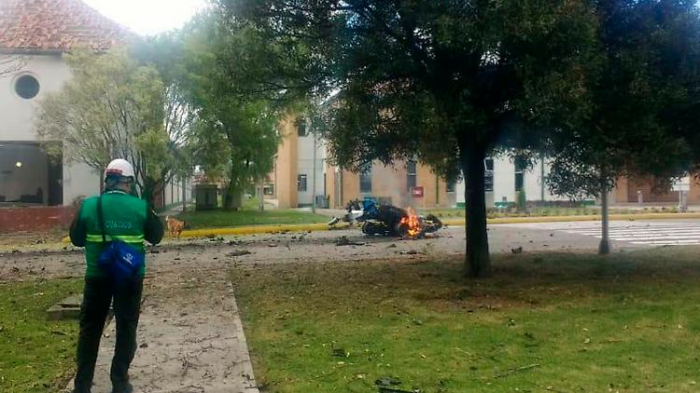 Guerillero zündete Bombe in Polizeischule