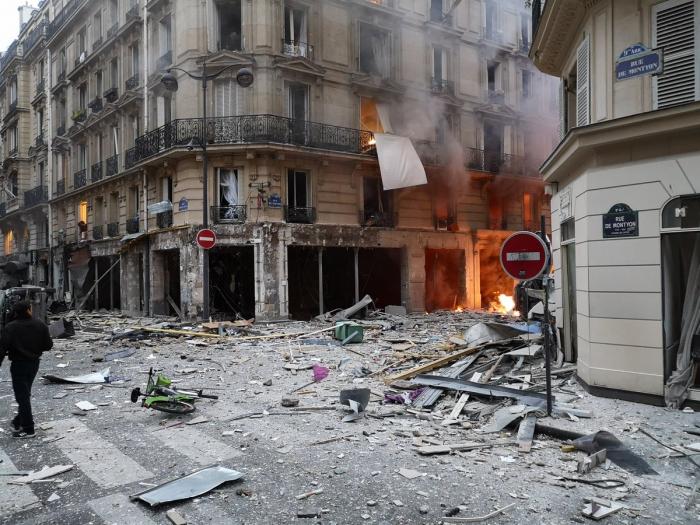 France:  Forte explosion dans le 9e arrondissement de Paris,au moins 20 blessés