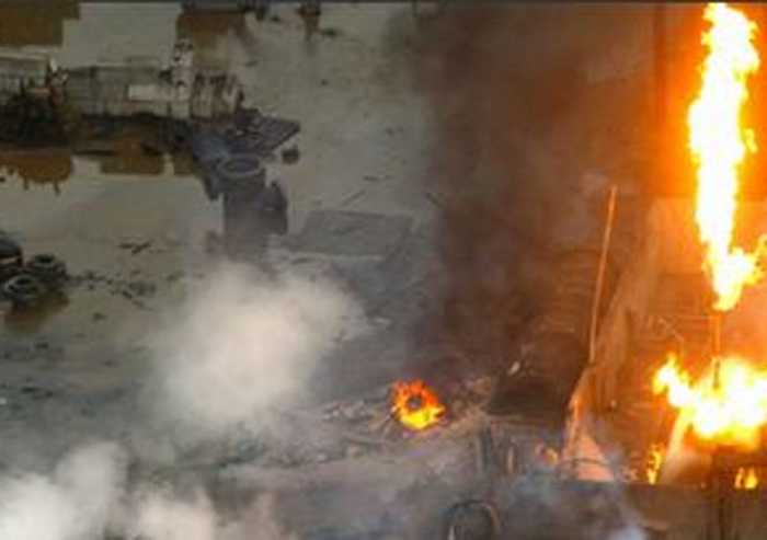 Explosions rock China