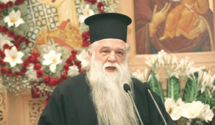 Greek Bishop Amvrossios jailed for anti-gay speech