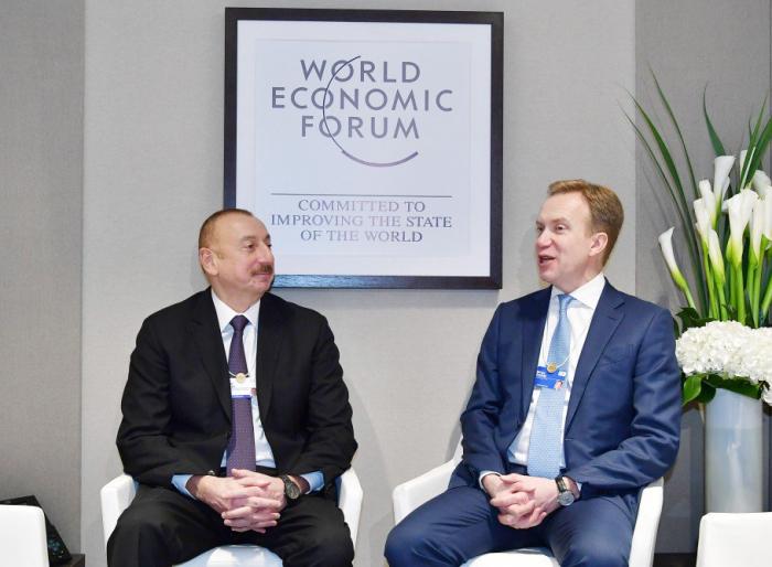 Presidente Ilham Aliyev se encuentra de visita en Suiza