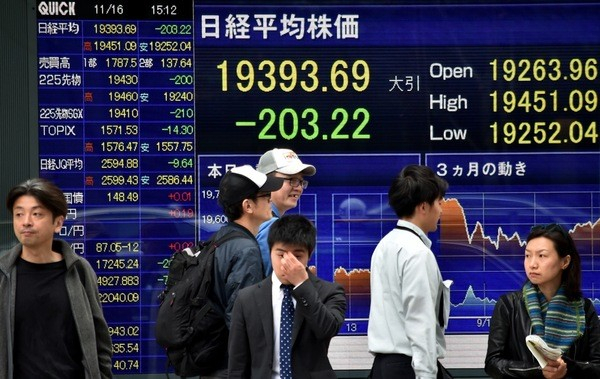 Le risque de récession au Japon en 2019 s