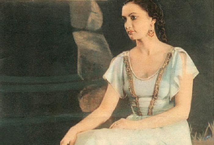 Azərbaycan baletinin unudulmaz Leylası - FOTOLAR