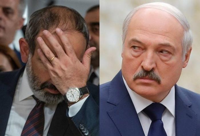 Lukaşenko Paşinyandan dəvət gözləyir