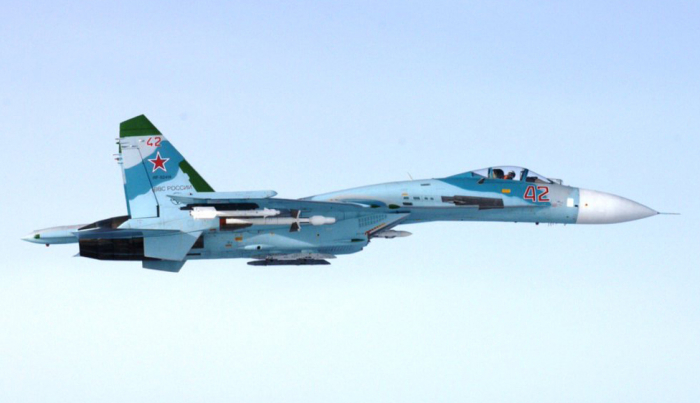 Russian Su-27 jet intercepts Swedish spy plane: report