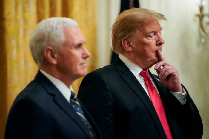 """Les Etats-Unis rendront impossible """"toute résurgence"""" du groupe Etat islamique, assure Pence"""