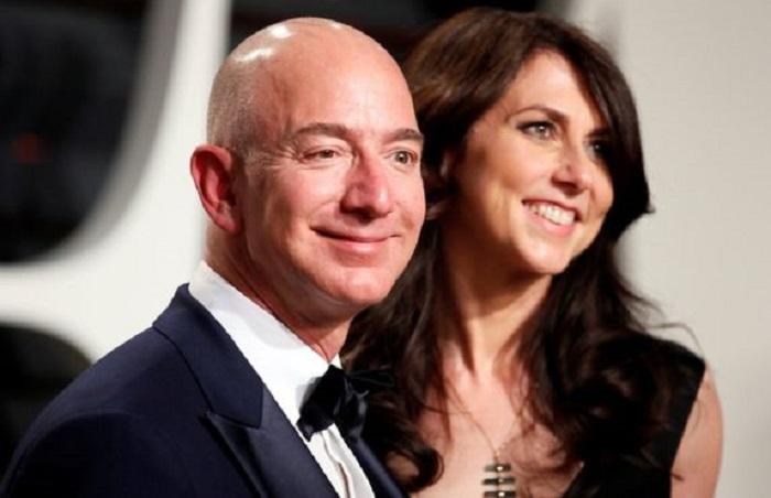 Jeff Bezos divorce de sa femme