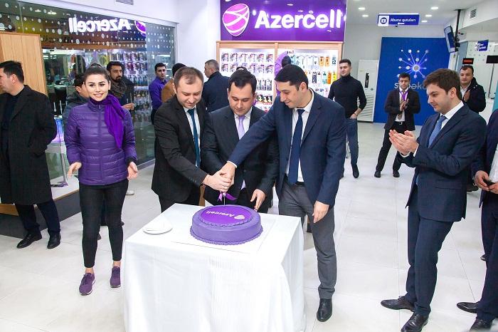 Azercell-in xidmət mərkəzi Beynəlxalq Avtovağzalda