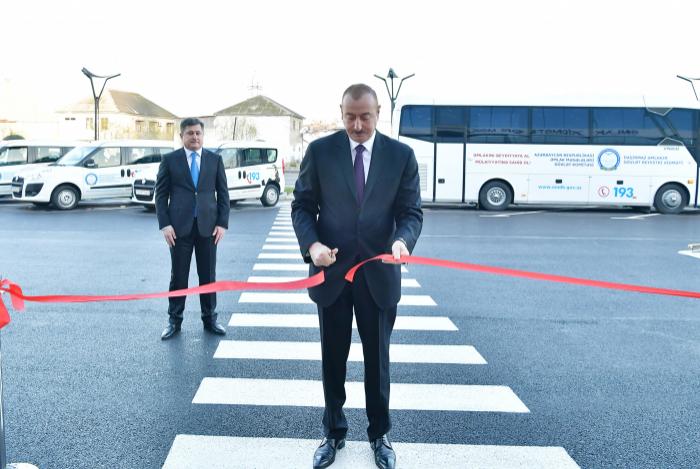 Prezident Əmlak Xidmətləri Məkanının açılışında - FOTOLAR (Yenilənib)