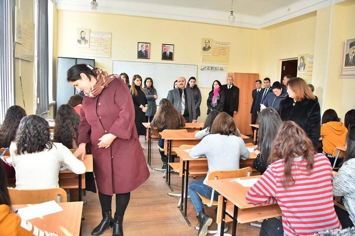 """Sumqayıt Texniki Kollecində """"Açıq qapı"""" günü keçirilib"""