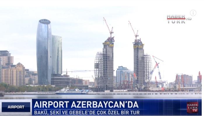 """Məşhur """"Airport"""" verilişinin Azərbaycana həsr olunan buraxılışı - VİDEO"""