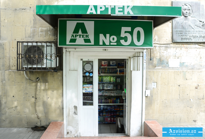 Psixotrop dərman satan aptek işçisi saxlanıldı