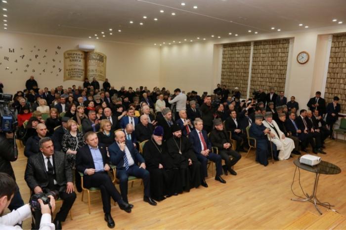 Azerbaijani delegation attends opening of Mukhtarov mosque in Vladikavkaz