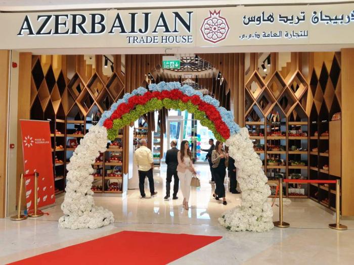 """Dubayda """"Azərbaycan Ticarət Evi"""" açılıb"""